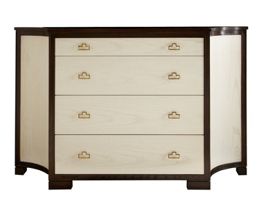 Lillian August Furniture LA Workshop Guy Clipped Corner Credenza LA98021