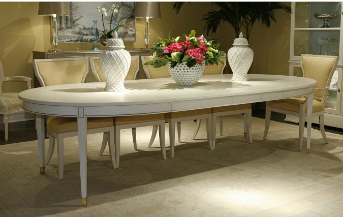 Lillian August Furniture Sutton Oval Dining Table LA99011