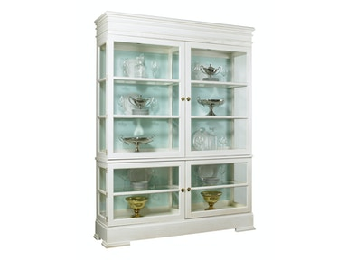 Lillian August Furniture LA Workshop Sterling Grand Cabinet LA99043_LA99044