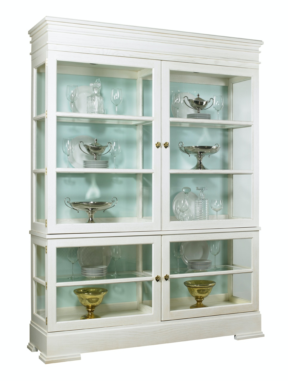Lillian August Furniture Sterling Grand Cabinet LA99043_LA99044