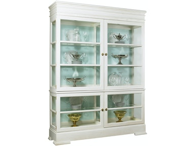 Lillian August Furniture Sterling Grand Cabinet LA99043_LA99044