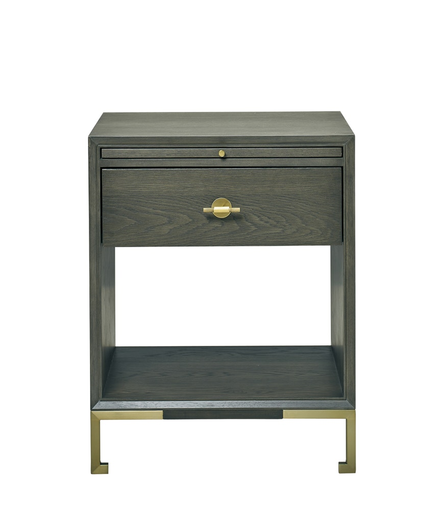 New Showroom Sample Hickory White Julian Small Nightstand Contact For Quote ShippingDelivery Cost Extra Lillian August PA5320