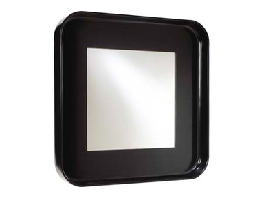 French Heritage Round/Square Mirror M-8704-106-BLK