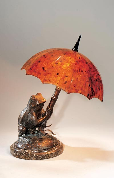 Maitland Smith Verdigris Patina Brass Frog L& Young Penshell Inlaid Umbrella Shade Stone Base  sc 1 st  Goodu0027s Home Furnishings : maitland smith lighting - www.canuckmediamonitor.org