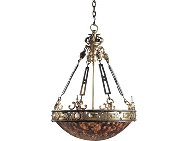 Lamps and lighting maitland smith chandeliers goods home maitland smith finely cast brass iron and penshell empire chandelier 8120 19 mozeypictures Images