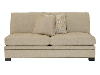 Bernhardt Interiors Gramercy Pillowback Armless Loveseat N7540