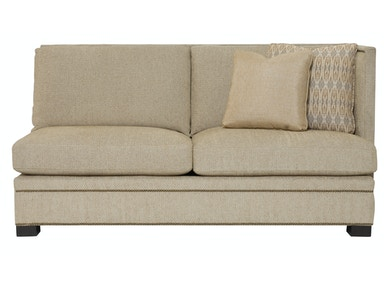 Bernhardt Interiors Gramercy Pillowback Right Arm Loveseat N7541