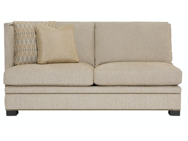 Bernhardt Interiors Gramercy Pillowback Left Arm Loveseat N7542