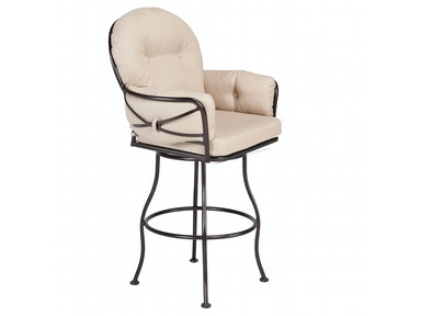 OW Lee Furniture Cambria Club Swivel Bar Stool 17133-SBS