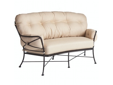 OW Lee Furniture Cambria Crescent Love Seat 17136-2S
