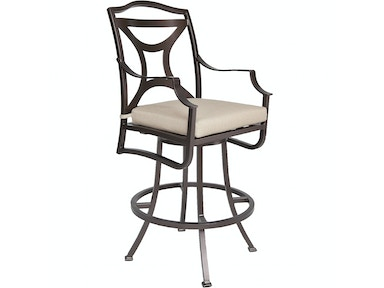 OW Lee Furniture Madison Swivel Bar Stool W/ Arms 2253-SBS