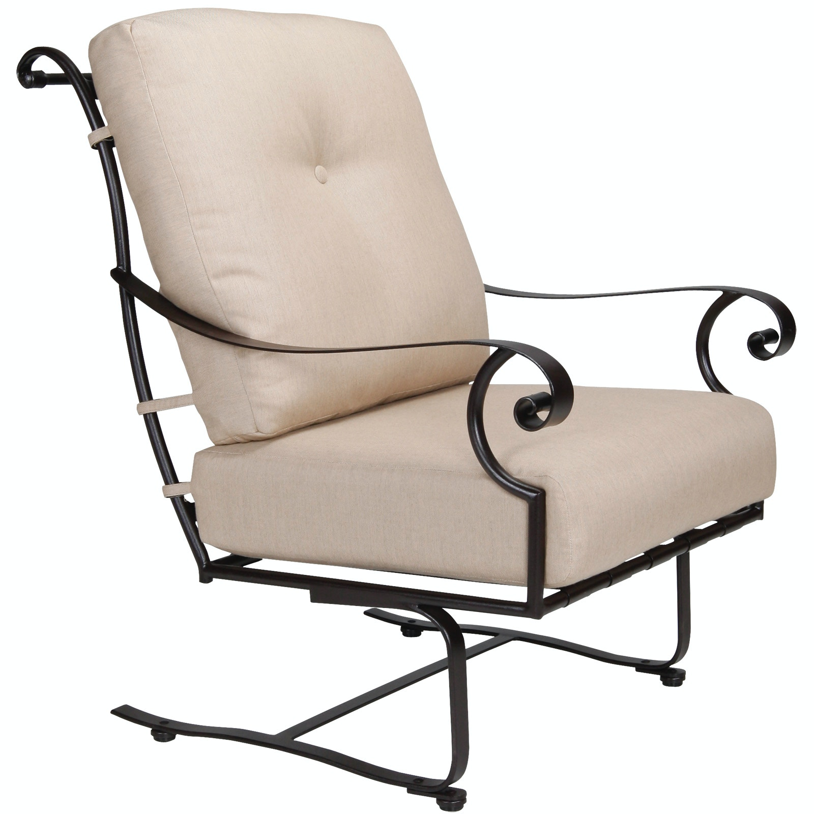 OW Lee Furniture St. Charles Spring Base Lounge Chair Owlee Furniture  26125 SB