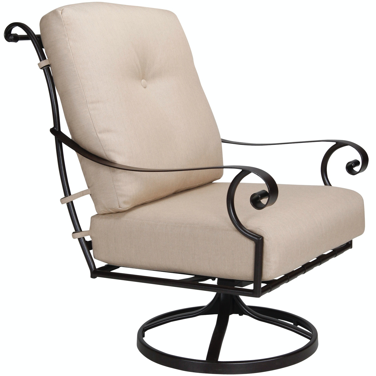 OW Lee Furniture St. Charles Swivel Rocker Lounge Chair Owlee Furniture  26125 SR