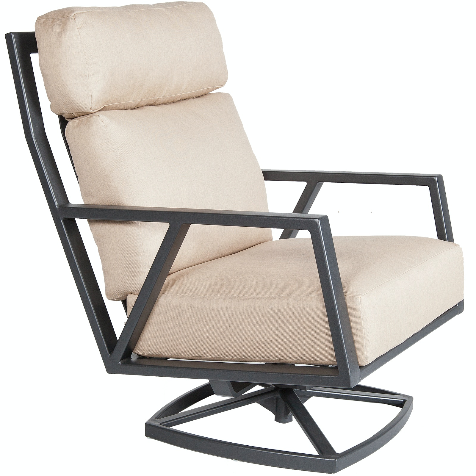 OW Lee Furniture Aris Swivel Rocker Lounge Chair Owlee Furniture 27175 SR