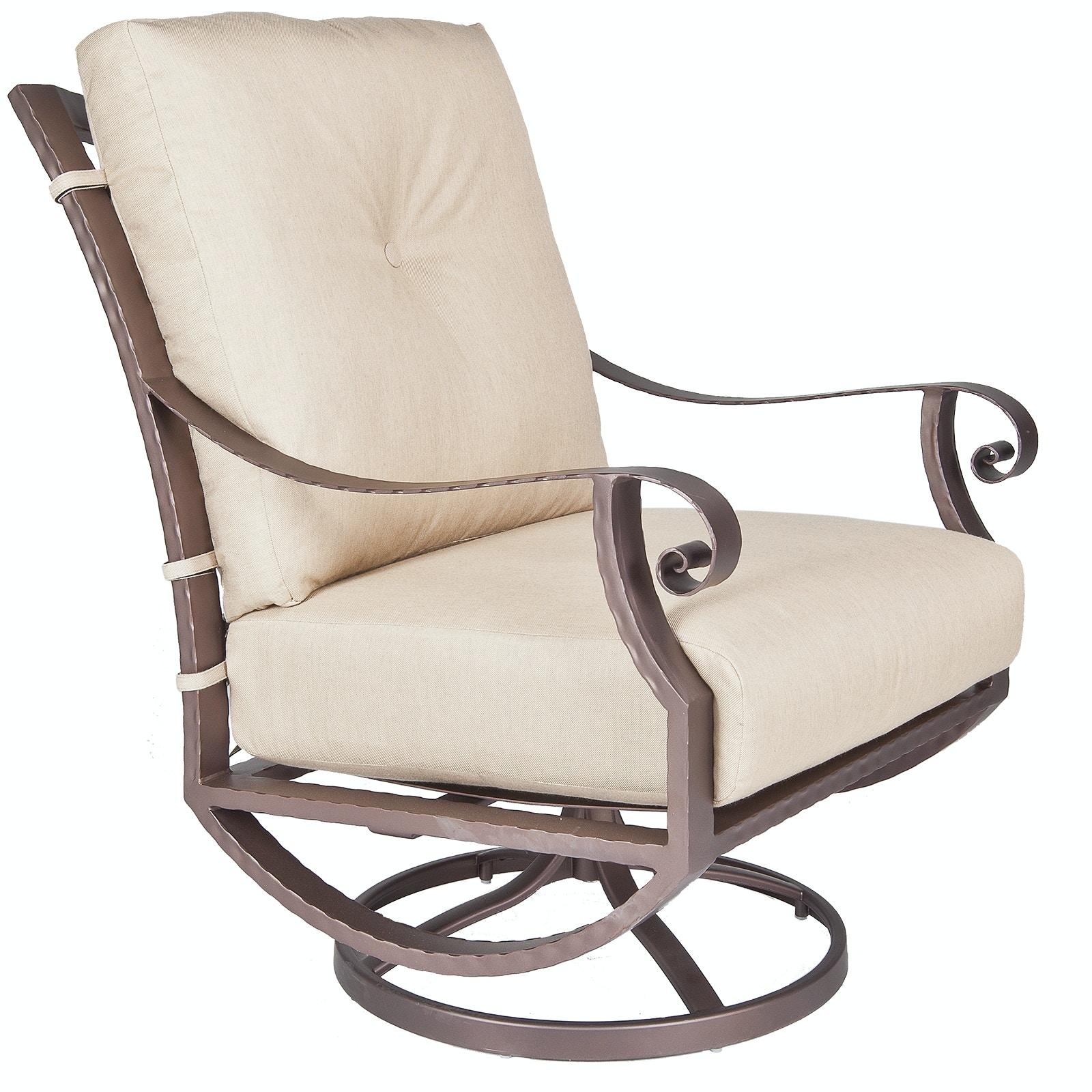 OW Lee Furniture Luna Swivel Rocker Lounge Chair 32125 SR