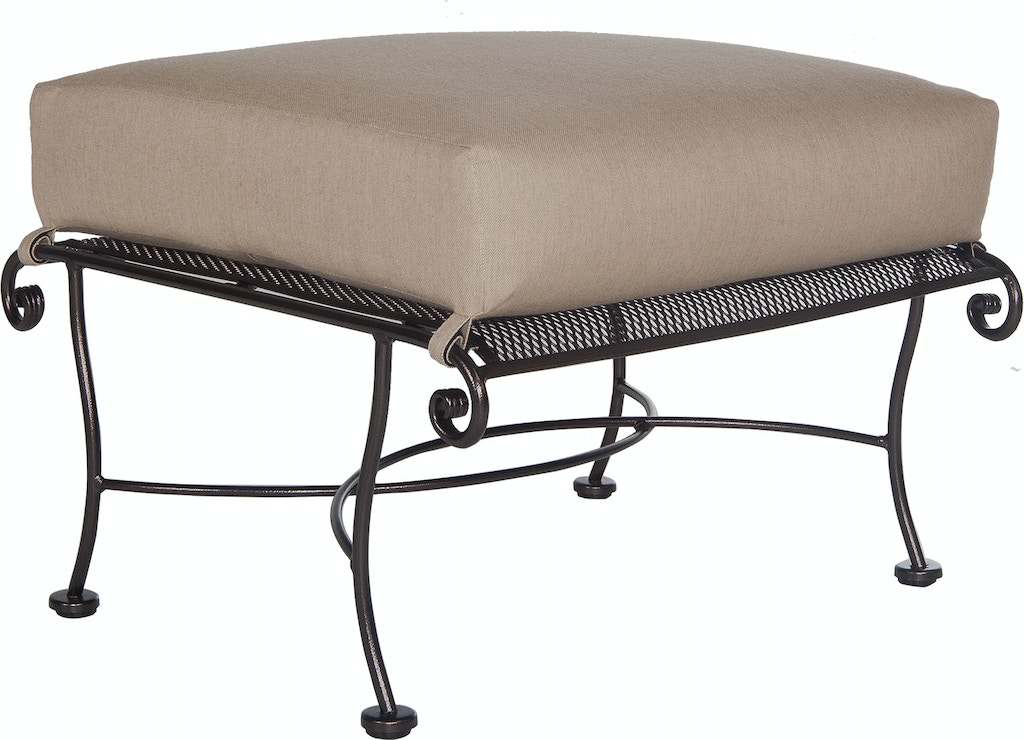 Peachy Ow Lee Furniture 4350 O Outdoorpatio Avalon Ottoman Ibusinesslaw Wood Chair Design Ideas Ibusinesslaworg