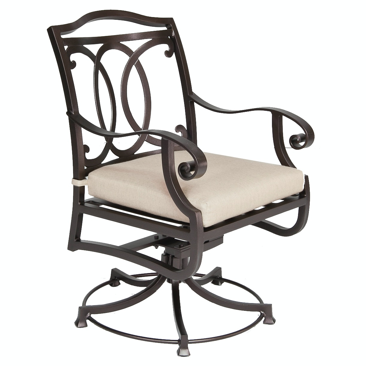 OW Lee Furniture Palisades Swivel Rocker Dining Arm Chair 4653 SR