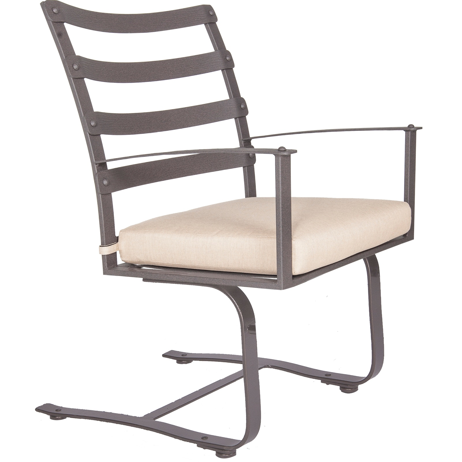 Charmant OW Lee Furniture Ridgewood Spring Base Dining Arm Chair 7353 SB