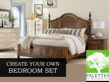 Palettes By Winesburg Custom Bedroom Sets Bedroom Design Your Own