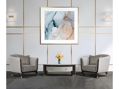 Aico Furniture 9003835-TRUFL-409 Living Room Matching Chair ...
