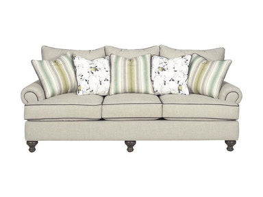 Paula Deen Furniture Paula Deen Three Cushion Sofa P711750BD
