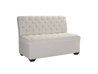 Pearson Parisian Diamond-Tufted Armless Banquette 1014-20