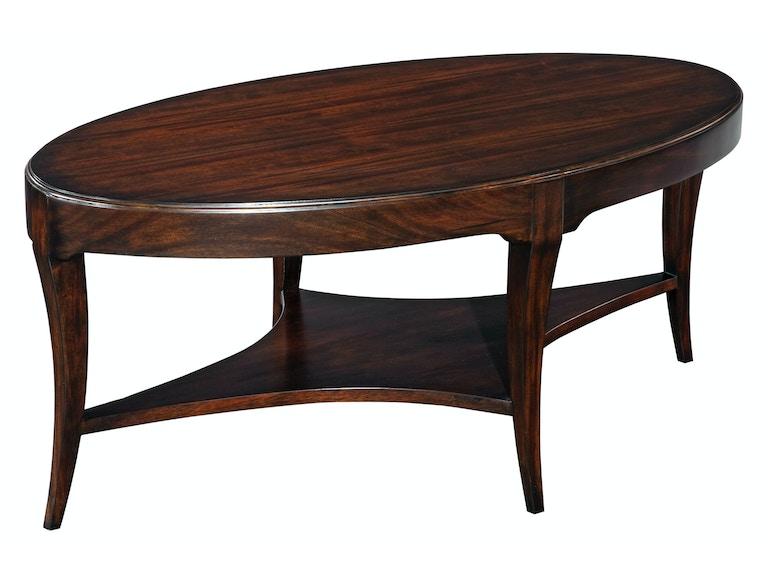 Woodbridge Furniture 2076 14 Living Room Addison Oval