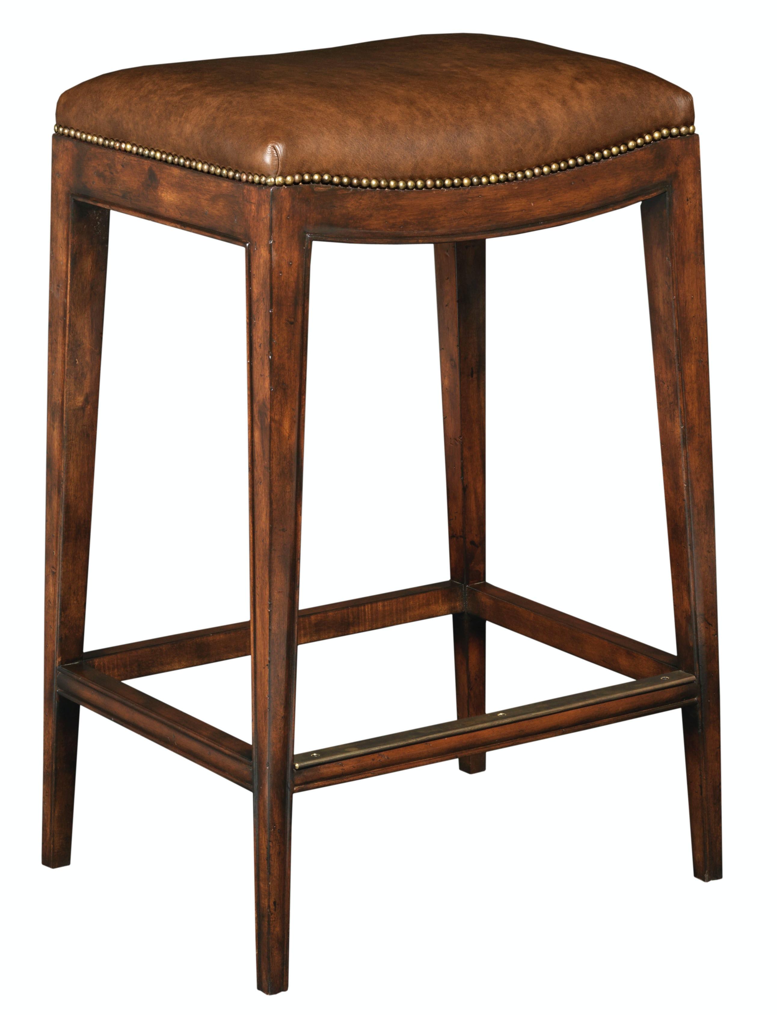 Woodbridge Furniture 7201 10 7202 10 Dining Room Stool
