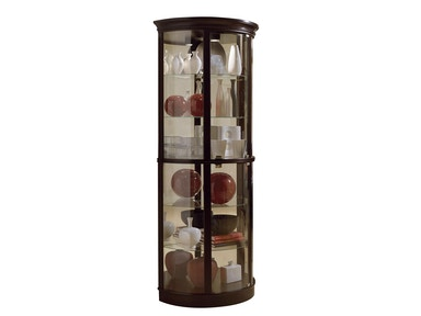 Pulaski Furniture Half Round Curio 20857