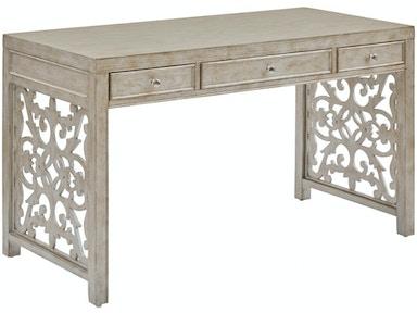 f8d4dba5b5bb Pulaski Furniture Silver Three Drawer Desk DS-D229-800
