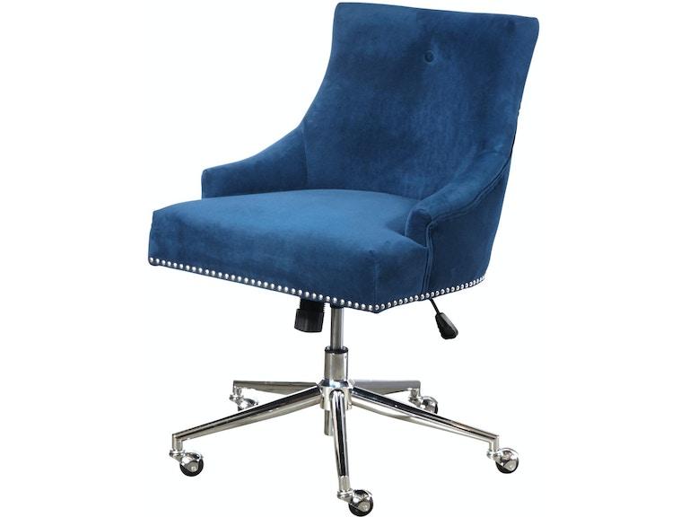 Ski Furniture Ds D274 703 1 Navy On Back Home Office