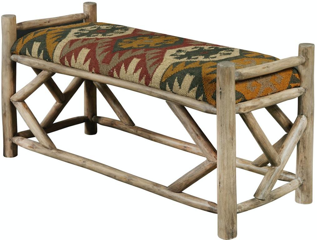 Terrific Pulaski Furniture Ds D281 605 Bedroom Reclaimed Wood Bed Bench Machost Co Dining Chair Design Ideas Machostcouk