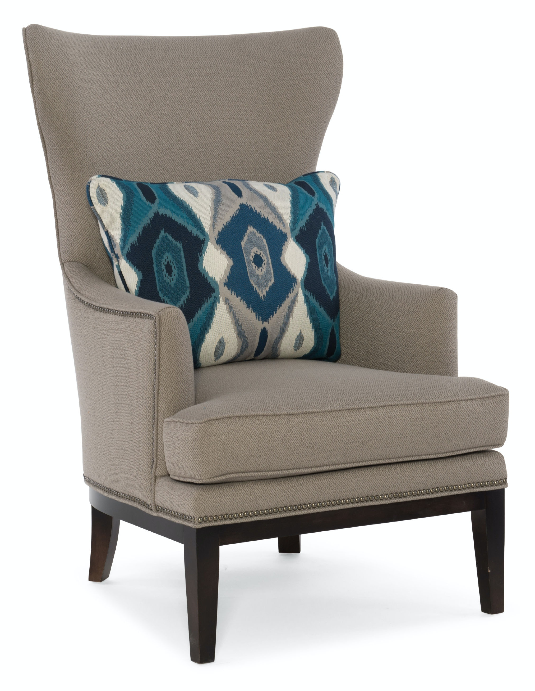 Sam Moore Furniture Living Room Bryn Wing Chair 2024