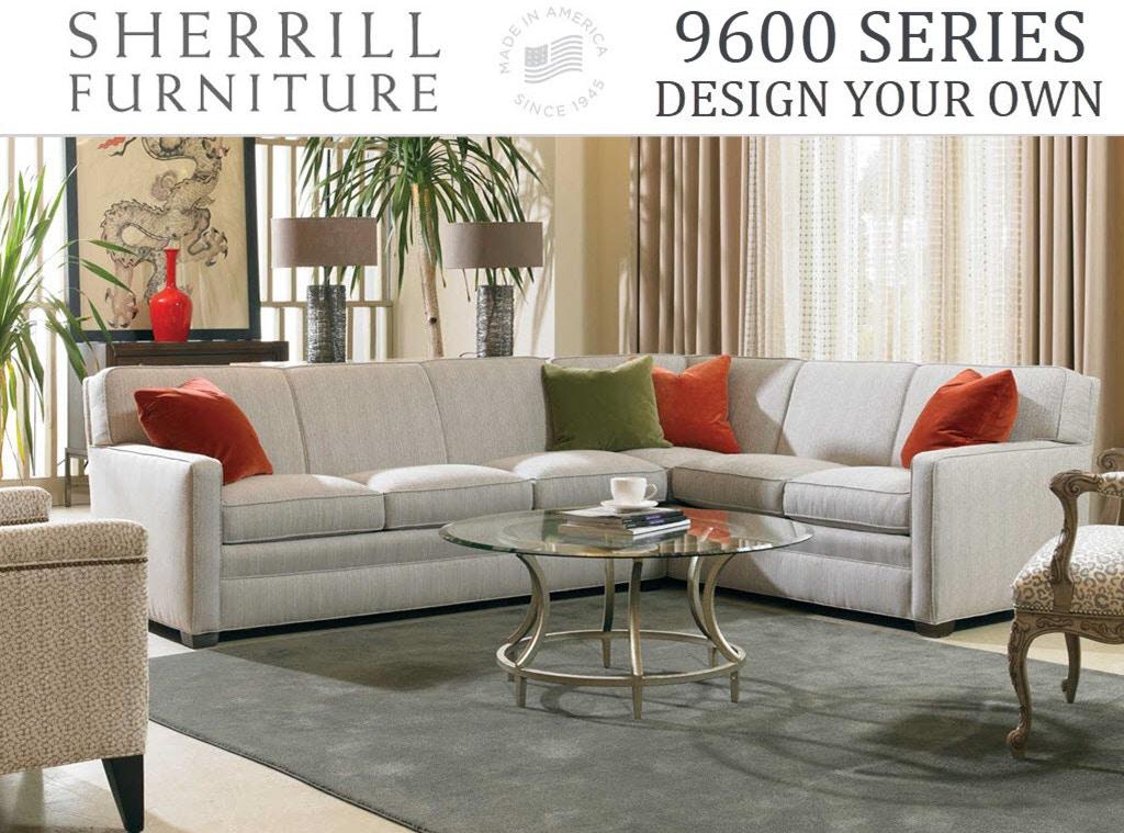 Sherrill 9600 Series Living Room Design