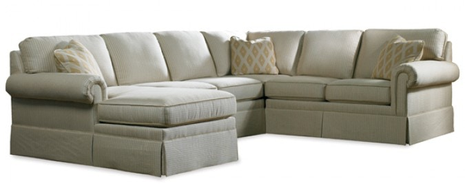 Sherrill Furniture Sectional 3085 Sect