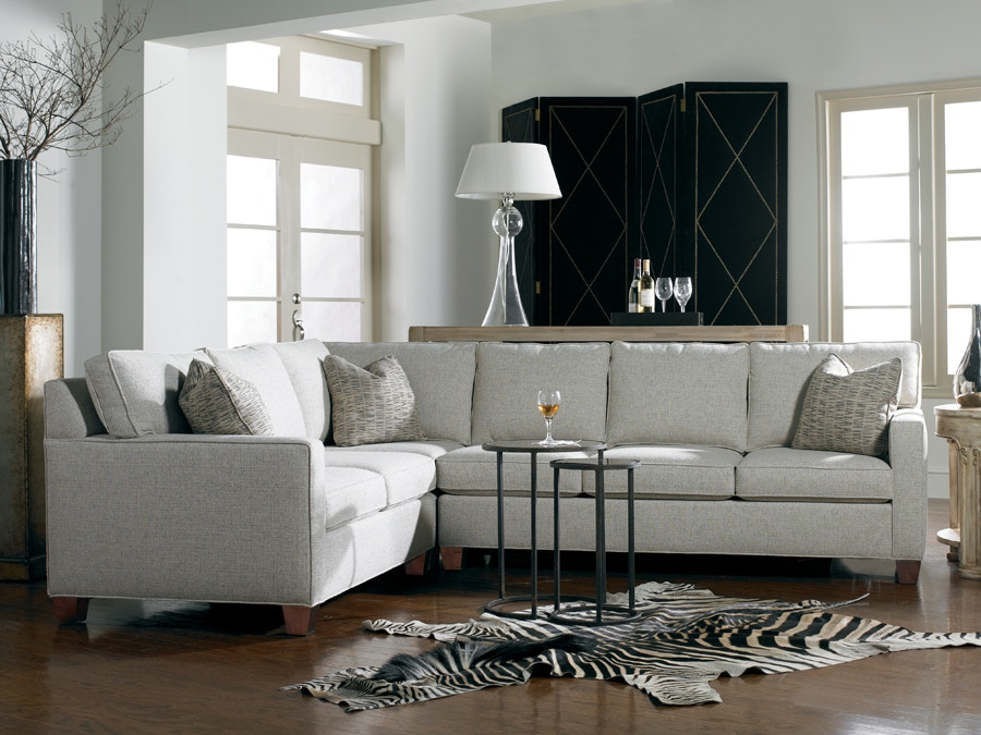 Delightful Sherrill Furniture Sectional 3100 SECT