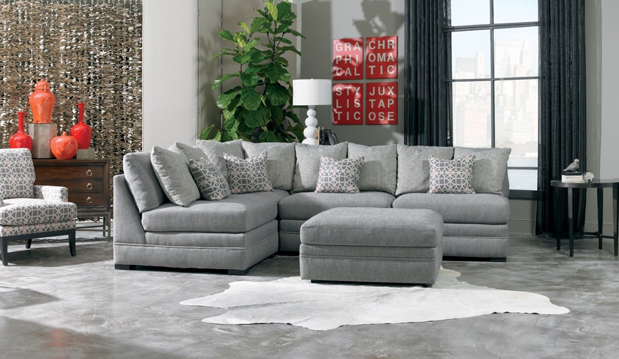 Sherrill Furniture Sectional 5800 Sect