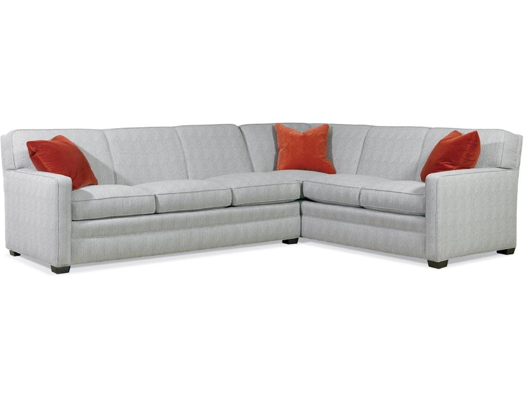 Sherrill furniture 9600 nflt living room sectional for Sherrill furniture