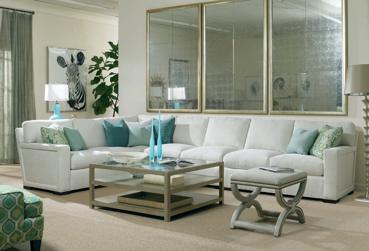 Sherrill Furniture DC113DC110DC102Sect Living Room sectional