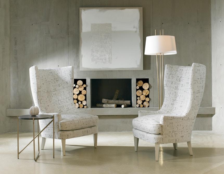 Sherrill Furniture Dan Carithers Wing Chair DC24