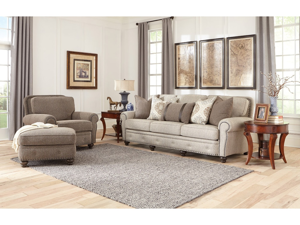 Smith Brothers Furniture Living Room Large Sofa 237 13