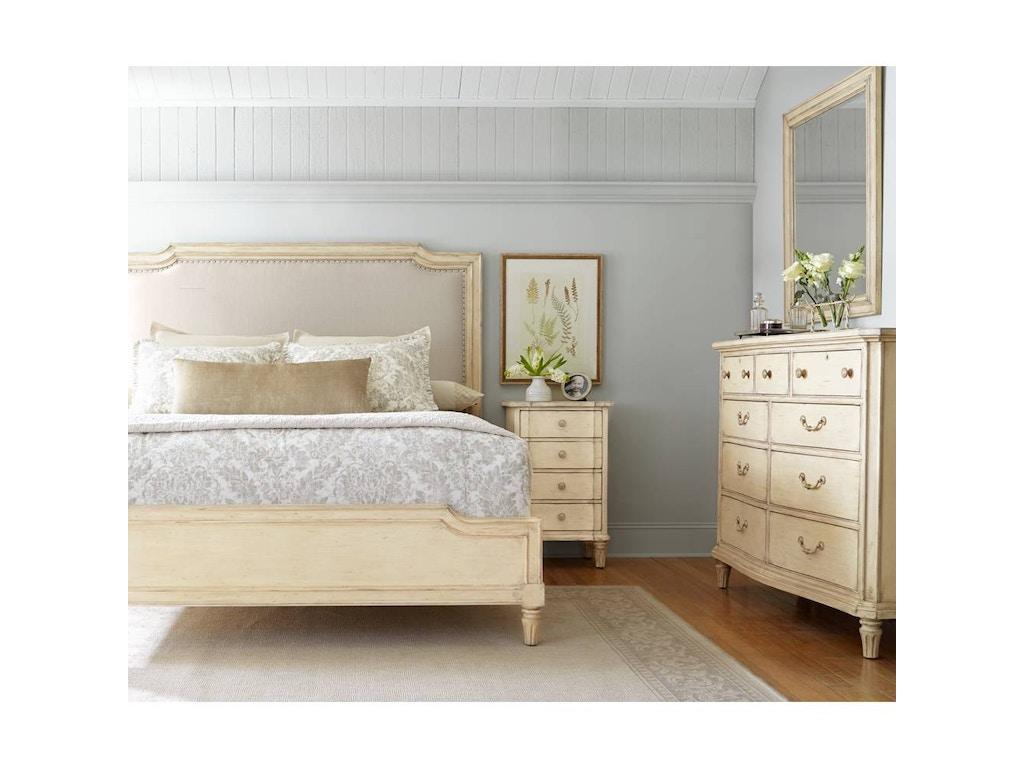 Stanley Bedroom Furniture Stanley Furniture Bedroom European Cottage Upholstered Bed King