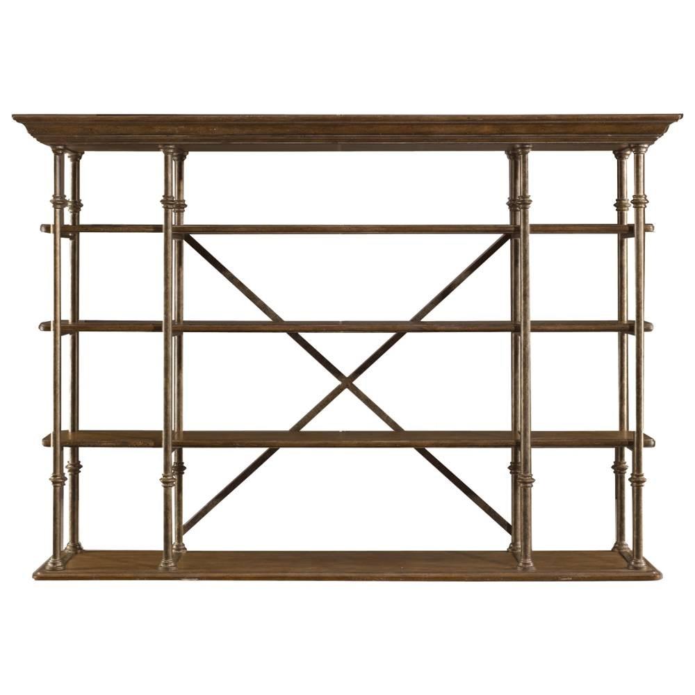 Stanley Furniture European Farmhouse #35: Stanley Furniture European Farmhouse - Lu0026#39;Acrobat Open Air Shelf 018-61-51