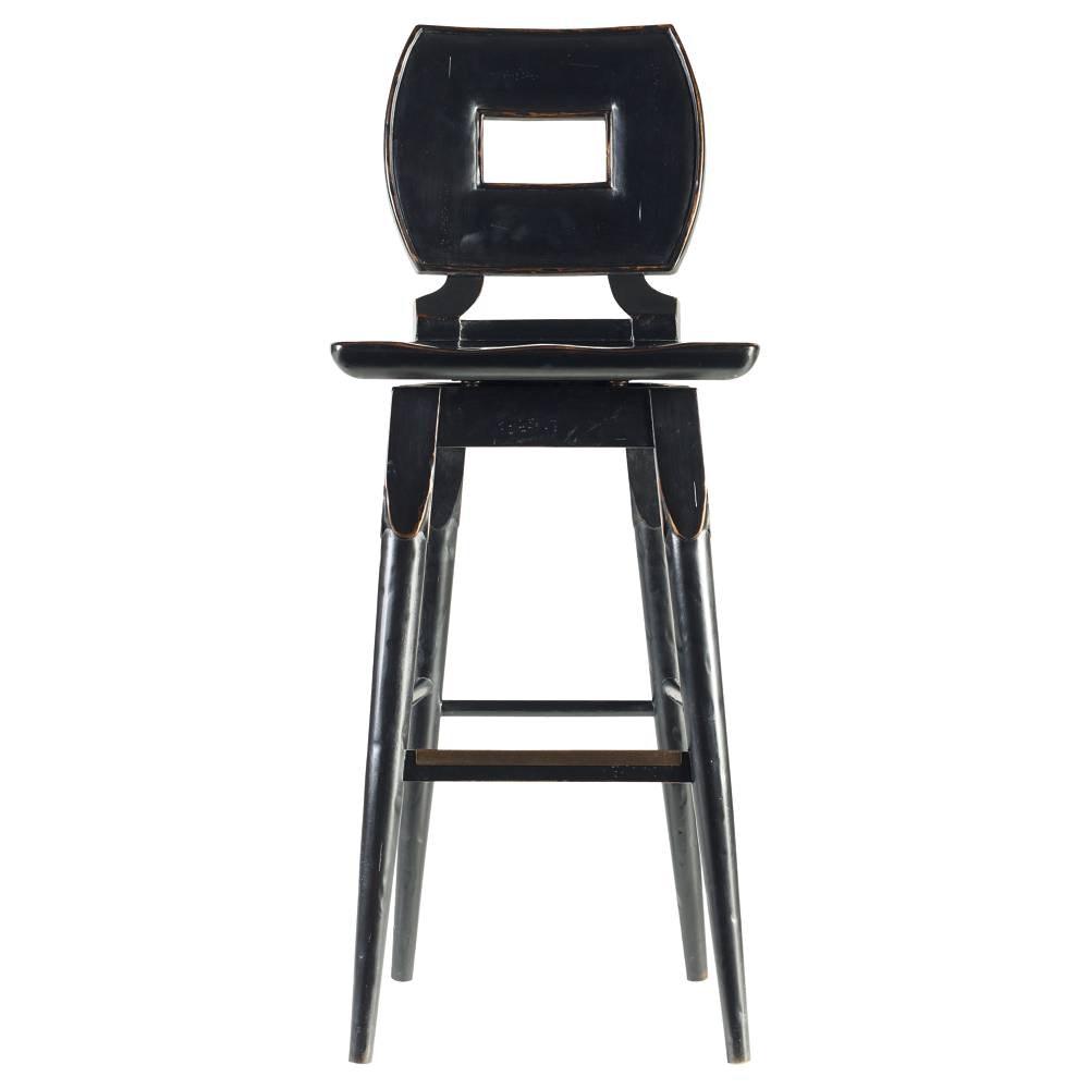 Bon Stanley Furniture Artisan   Wood Barstool 135 81 73