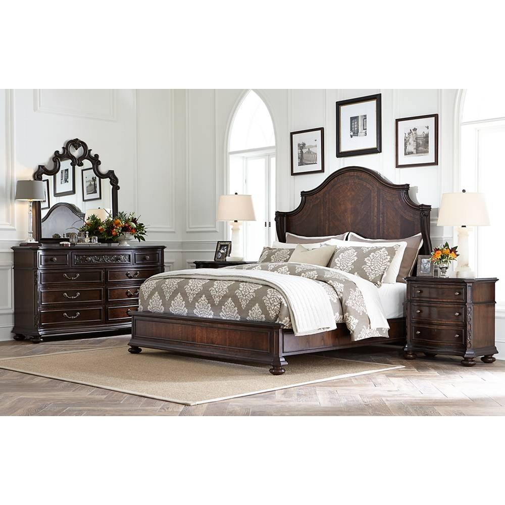 Stanley Furniture Bedroom Casa D\'Onore - Wood Panel Bed King 443-13-47