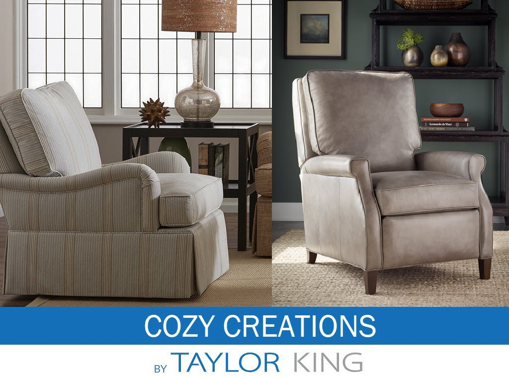 Taylor King Cozy Creations Living Room