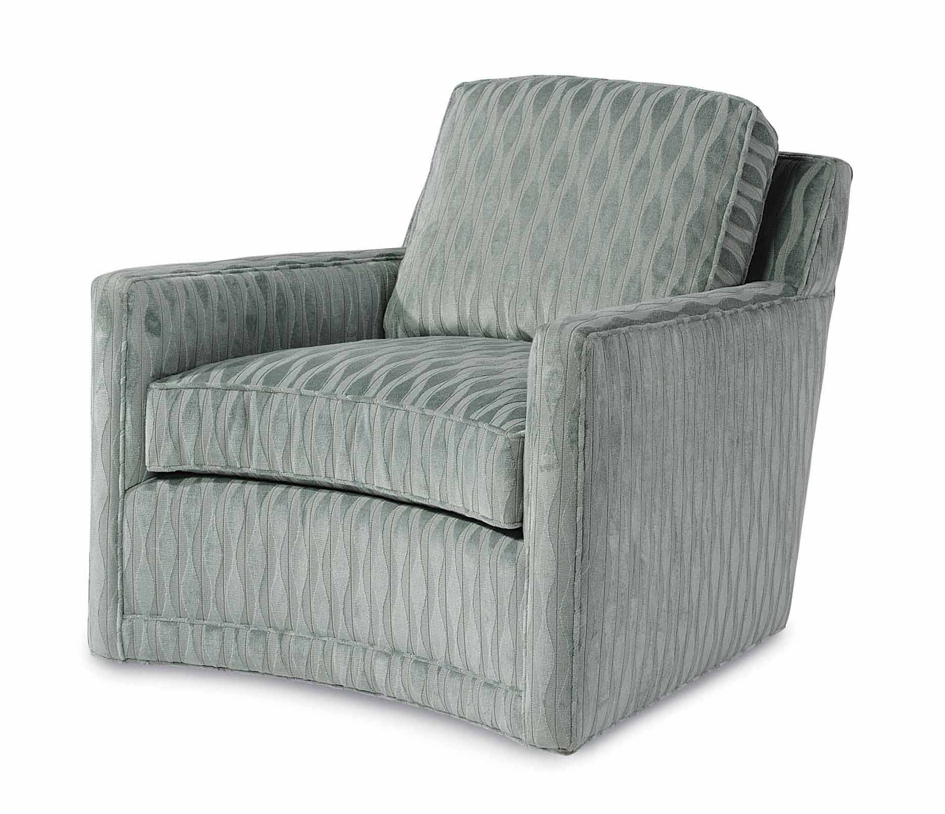 Taylor King Furniture Living Room Monahan Swivel Chair