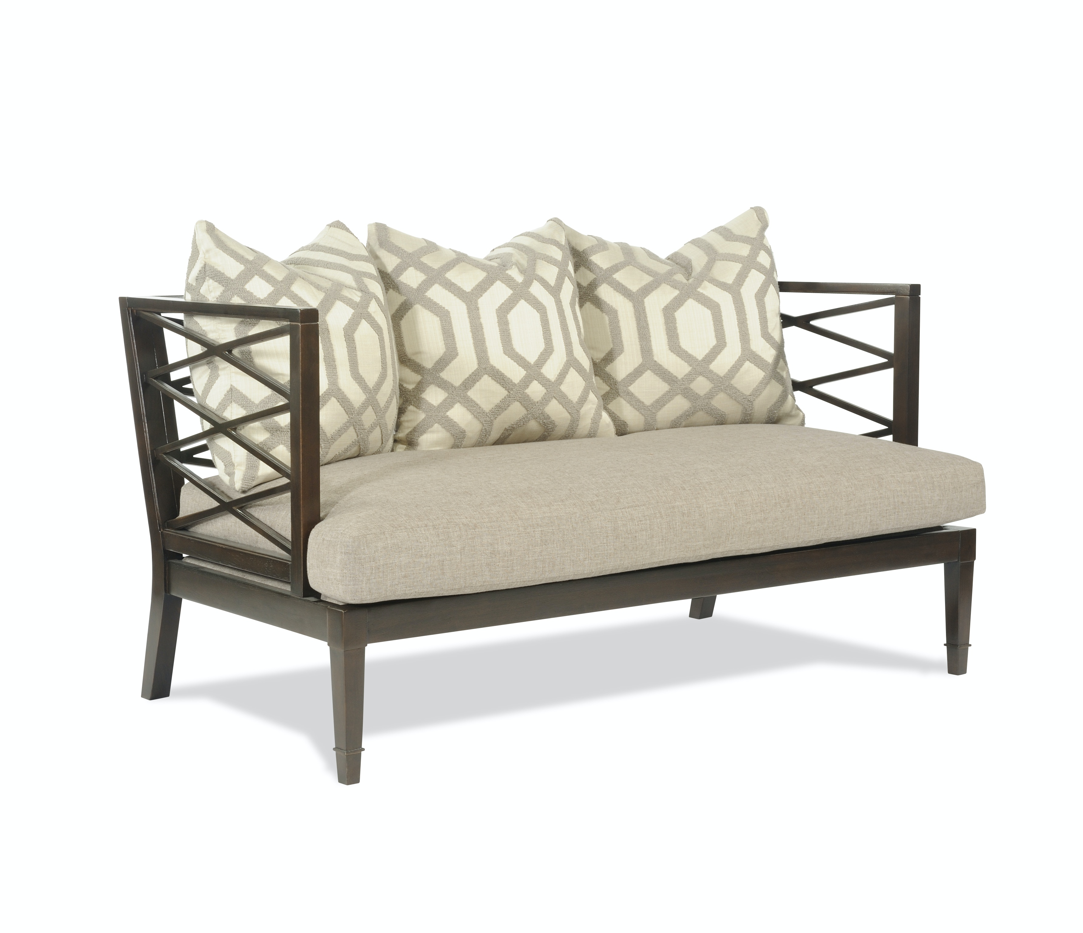 Taylor King Furniture Living Room Walker Settee 1420 02