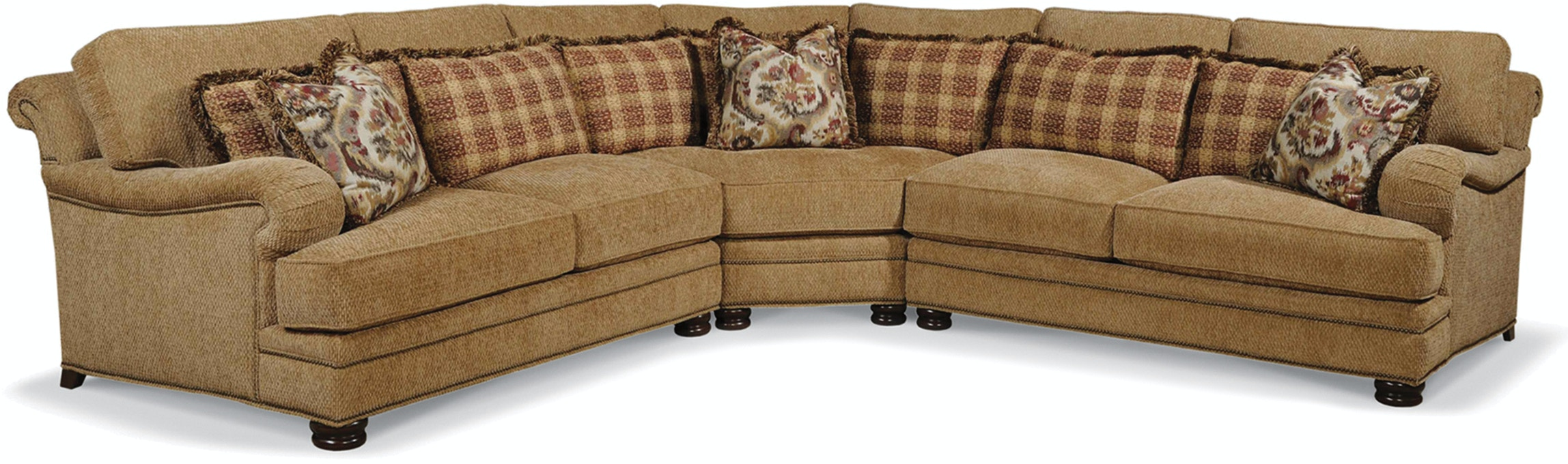 Taylor King Furniture Living Room AMBRIDGE SECTIONAL 8912