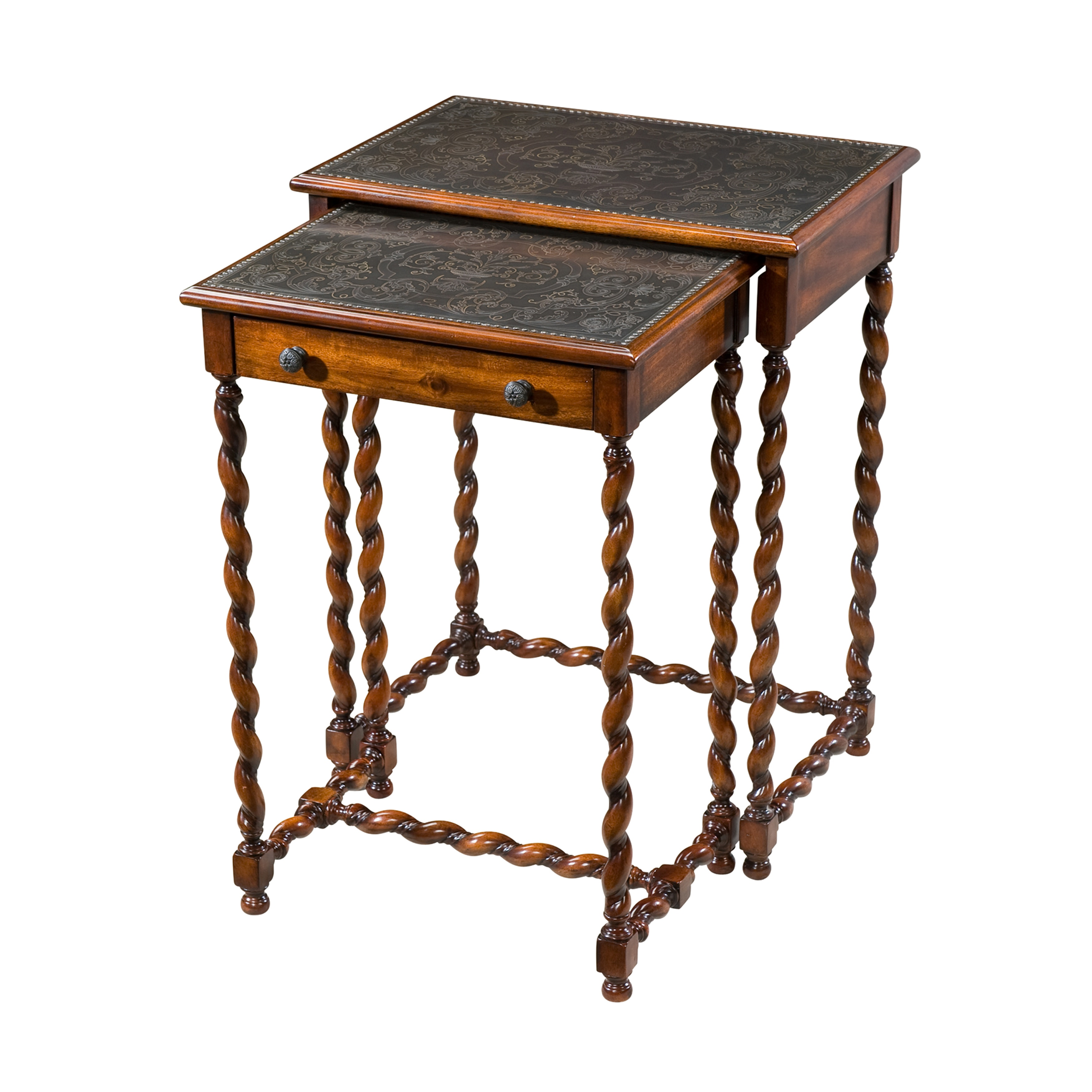 Theodore Alexander Furniture Lightly Engraved Tables 5000 220